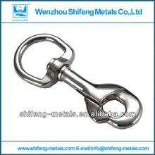 metal key chain snap hook;metal snap hook with key ring