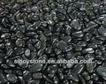natürliche poliert kieselsteine schwarz
