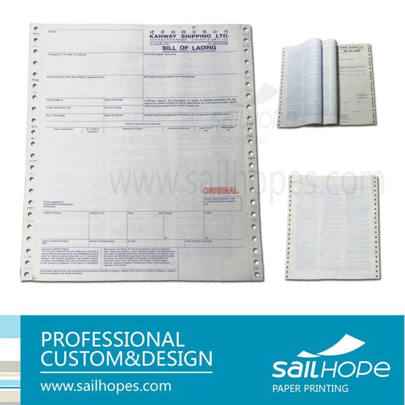 高品質のいい印刷色無料サンプル船荷証券 大きなイメージを見る 高品質のいい印刷色無料サンプル船荷