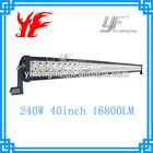 LED 240W led strobe emergency light bar for ATVs, SUV, UTV, truck, Fork lift, trains, boat, bus, and tanks