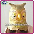 China manufaturer halloween die niedlichen tier eco- freundlich latex eule maske