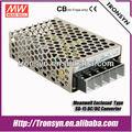 Meanwell SD-15-05 15 W de salida única convertidor DC DC 12 V a 48 V LED fuente de alimentación DC convertidor