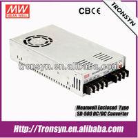 SD-500L-12 500W 12V 40A Single Output Meanwell LED Enclosed 12v 24v 48v DC Converter Power Supply