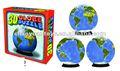 Engraçadointerativa jogo educativo para crianças 3d puzzle cinco continentes e quatro oceanos bk5206e005-32 puzzle