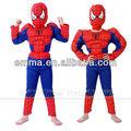 sıcak satış yeni stil çocuk örümcek adam kostümü c476