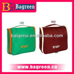 Hot sale professional design eco-friendly popular fashion promotion hanging toiletry travel bag organizer