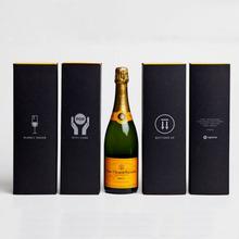 custom luxury red wine bottle packaging charm