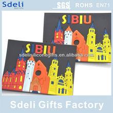 factory direct hot sale cheapest high quality custom 3D soft pvc rubber fridge magnet