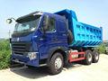 25-60ton 10 wheeler 371hp howo caminhões basculantes de condução à direita carros para venda