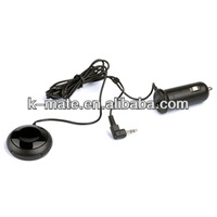 Bluetooth hands free car kit, with 3.5mm aux-in jack and USB charging jack