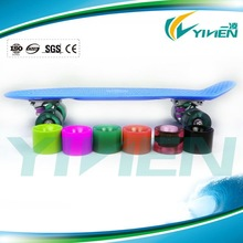 22 Inch 4 Wheel Plastic Cruiser Skateboard