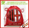Promotional Customized Football Fan Drawstring Bag