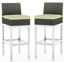 2014 Lakeside Rattan Bar Height Patio Chairs