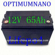 12v 65ah start lifepo4 battery instead of lead acid