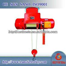 cd md model wire rope electric hoist 110v