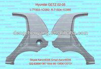 hyundai GETZ 06 rear fender