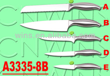 high carbon stainless steel 420/430 kitchen knives