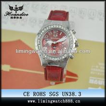 high quality lady hand watch quartz watch jewelry set