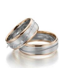 Agr0079- RW- albaba signori anello di diamanti costume fabbrica gioielli da sposa di design anelliin acciaio chirurgico umode banda moda