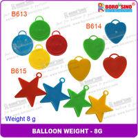 Mixed color balloon pendant