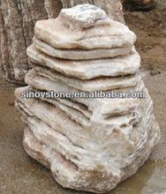 garden boulder stones outdoor landscape