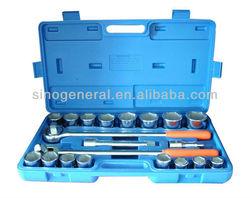 "21pcs 3/4"" drive socket wrench set emergency auto tool kit"