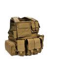 Militar de combate do exército colete tático multi- função colete