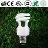 GE T2 7W mini half spiral CFL lighting spirl bulb