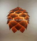 Beautiful Pattern Crimean Pinecone Hanging Lamp Design by Russian Designer