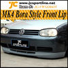 Bora Style MK4 Front Bumper Lip For Volkswagen Golf 4 IV