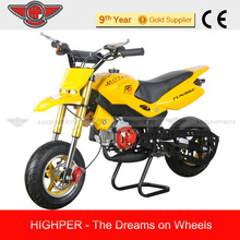 2013 new High Qualty Super and Cheap 49cc 2 stroke Cross Mini Motard, Pocket Bike for Kids with CE