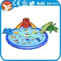 2014 inflável dragão de água jogo