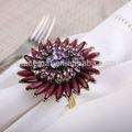 flor anel de guardanapo titulares