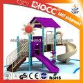 Ao ar livre equipamentos de playground adotar para as crianças 3 - 15 anos de idade