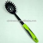 JK11166E Pasta Fork / Spaghetti Spoon, Nylon Tool Head with TPE Soft Handle
