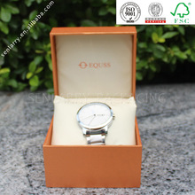 2014 hot sale protable gift box pocket watch with pillow design certificated by ISO SGS