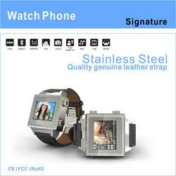 "HOPU-EC07B 2013 new watch phone with 1.46"" touch screen"