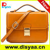 2014 PU Handbag Fashion Double Zipper PU bags