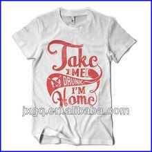 2015 wholesale fashion design 100 cotton white printed brand latest t shirt designs for men