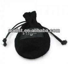 Fashionable design gift velvet pouch