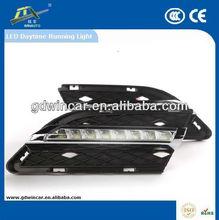 Car Parts 12v LED Lights LED Daytime Running / Light DRL Light specific for BMW New 3 Series 2009-2012 (E90 LCI)