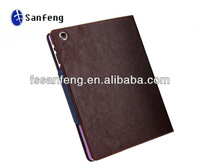Book Style Flip Leather Case For Ipad 4 Leather Cover