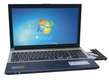 15 inch mini laptop cheap laptop 15.6 Inch Intel D2500 1.86GHz Laptop With DVD-RW HDMI (A156 D2500) Windows 7 netbook