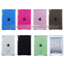 Crystal Clear Hard PC Back Case Cover Slim Shell for Apple iPad Mini