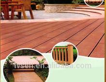 outdoor durable low-maintenance wood plastic composite wpc decking