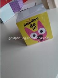 2015 Promotional Paper Memo Cube