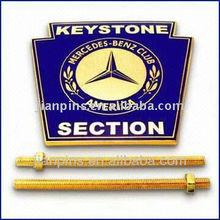 Gorgeous Metal Enamel Car Emblem