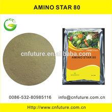 Free of chloride plant source soluble 80% amino acid powder organic fertilizer