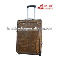 Travel trolley luggage bag & travel car luggage and bags & luggage bag