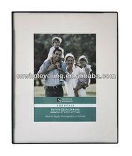 Plastic shaped photo frames